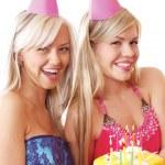 The birthday party — Stock Photo
