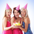 Stock Photo: The birthday party