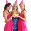 The birthday party — Stock Photo #15601059