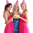 The birthday party — Stock Photo