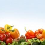 Fresh tasty vegetables fractal — Stock Photo #15602823