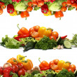 Fresh tasty vegetables fractal — Stock Photo