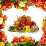 Fresh tasty vegetables fractal — Stock Photo #15603027