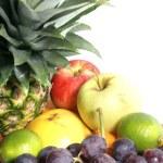 Fruits isolated on white — Stock Photo #15603477