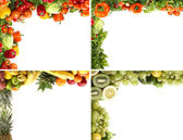 Nutrition frames — Stock Photo