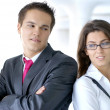 Business couple — Stock Photo #15652695