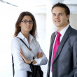 Business couple — Stock Photo #15652723
