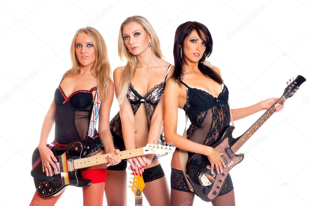 from Ryker sexy girl rock band