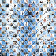 Great business collage made of 225 different pictures and abstract elements. — Stock Photo #15758131