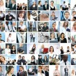Business collage — Foto de stock #15758139
