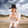 Western Girl — Stock Photo