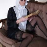 Sexy nun — Stock Photo #15826171