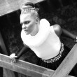 Stock fotografie: Attractive retro styled young blond