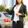 Young attractive businesswoman — Stock Photo #15867721