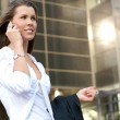 Young attractive businesswoman — Stock Photo #15867739