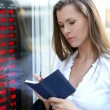 Young attractive businesswoman — Stock Photo #15867763