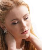 Redhead — Stock Photo