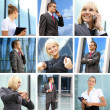 Royalty-Free Stock Photo: Collage made of some business pictures