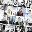 Business collage made of some pictures — Stock Photo