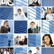 Business collage made of some pictures — Stock Photo #15875409