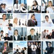 Business collage made of some pictures — Stock Photo #15875461