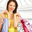 Attractive womdoing shopping — Stock Photo #15877399