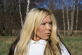 Sexy blond — Stock Photo