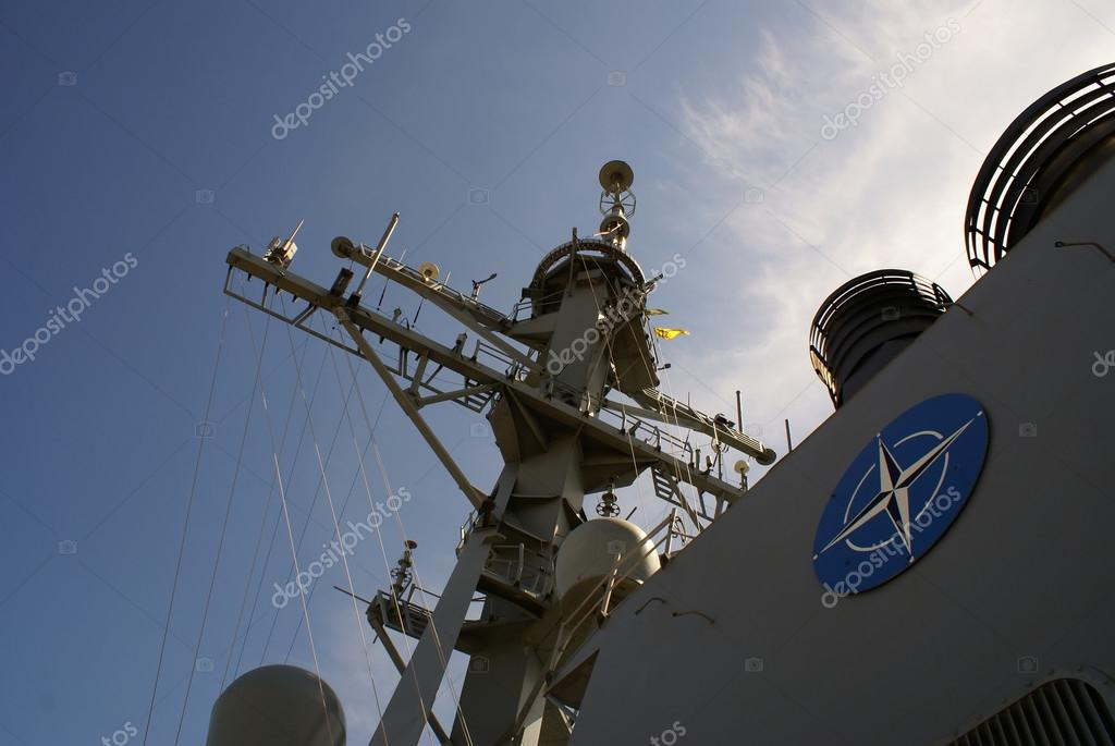 Part of NATO ship    Stock Photo #15878065