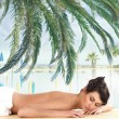 Attractive woman getting spa treatment — Stock Photo #15880017