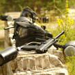 Paintball weapon — Stockfoto