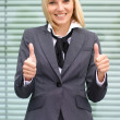 Stock Photo: Attractive young business woman