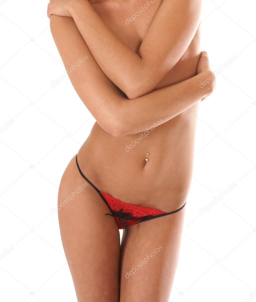 Belly of beautiful woman          — Stock Photo #15884201