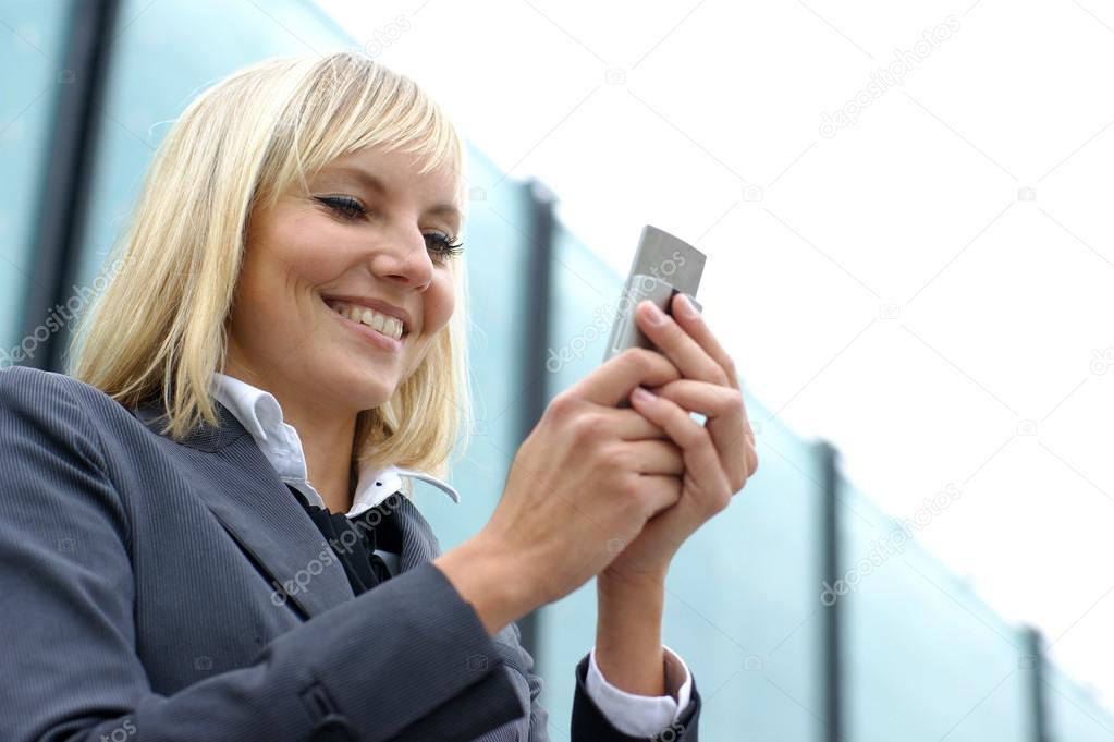 Young sexy business woman  — Foto Stock #15887851