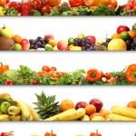 5 nutrition textures — Stock Photo #16021899