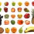 Stock Photo: Healthy nutrition isolated on white