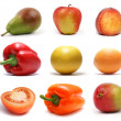 Set of fruits - Stock Photo