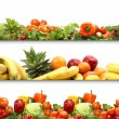 5 nutrition textures — Stock Photo