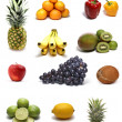 Fruits isolated on white — Stock Photo #16022037