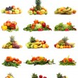 Vegetables isolated on white — Stock Photo #16022123