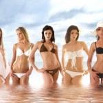 Sexy girls — Stock Photo
