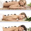 Attractive women getting spa treatment — Stock Photo #16025461