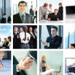 Business collage — Stock Photo #16026685
