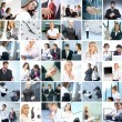 Business collage — Stock Photo #16027029
