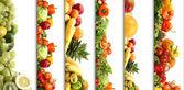 5 ernährung-texturen — Stockfoto