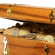 Treasure chest — Stock Photo #16169787