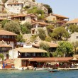 Seaside village in Turkey - Stock Photo