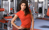 Fit sexy lady — Stock Photo