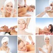Spa collage made of many different elements — Stock Photo #21487621