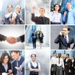 collage di business è costituita da alcuni elementi diversi — Foto Stock #21488665