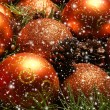 Christmas background - Stock Photo